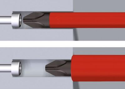 Bit izolowany Phillips PH1 x 75 mm VDE slimBit WIHA (nr kat. 34583)