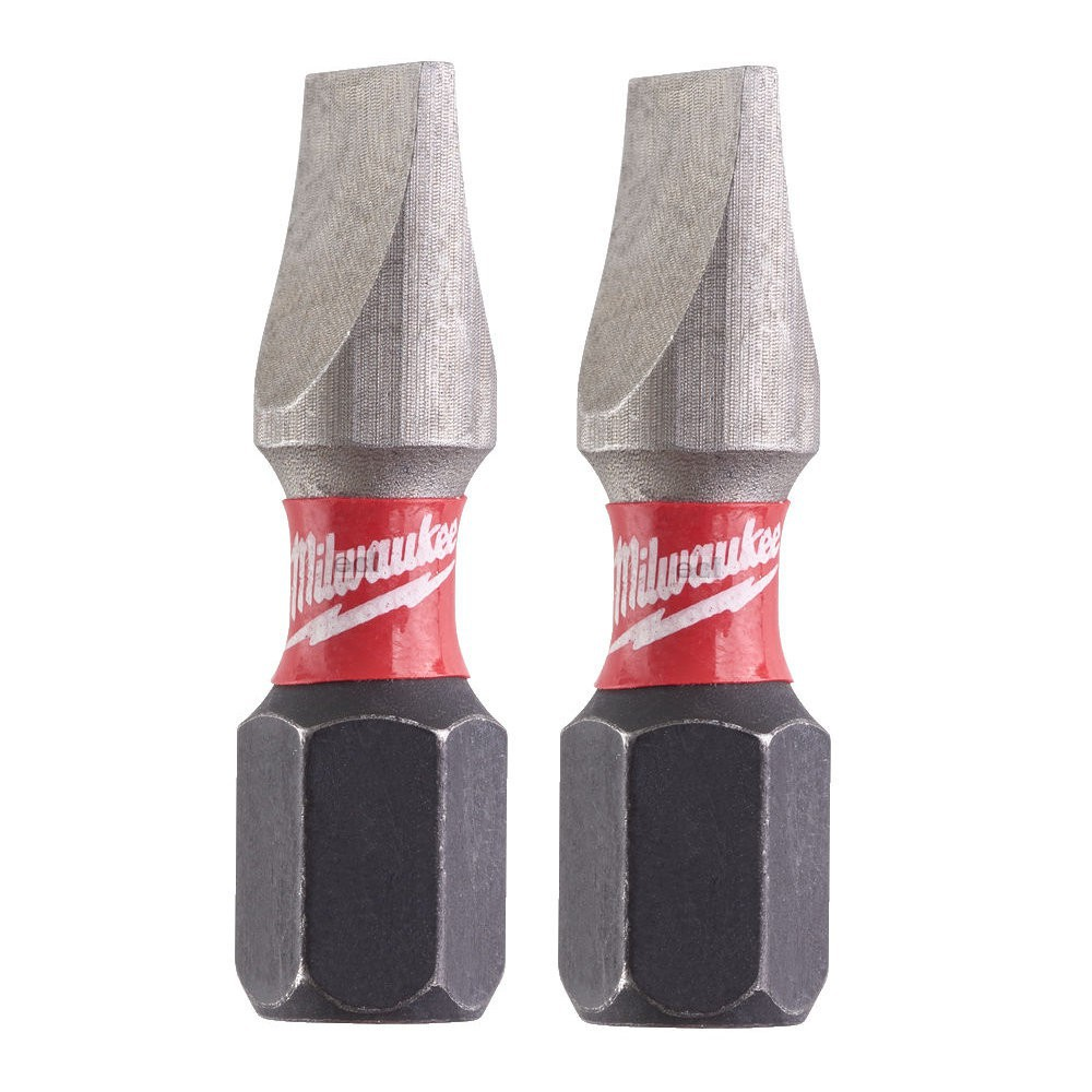 BIT SL 6.5 x 25mm 2szt. Shockwave Impact Duty™ MILWAUKEE (nr kat. 4932430903)
