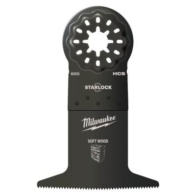 Brzeszczot 3-ostrzowy 65 x 42 mm do multinarzędzia MILWAUKEE (nr kat. 48906015)