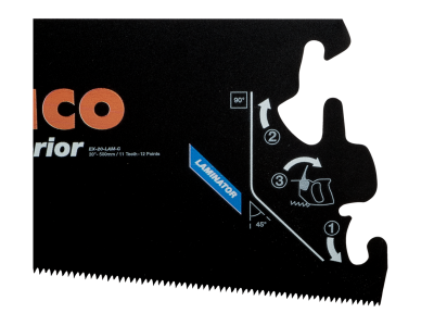 Brzeszczot do rękojeści EX 500 mm TPI 11/12 Superior Bahco (nr kat. EX-20-LAM-C)
