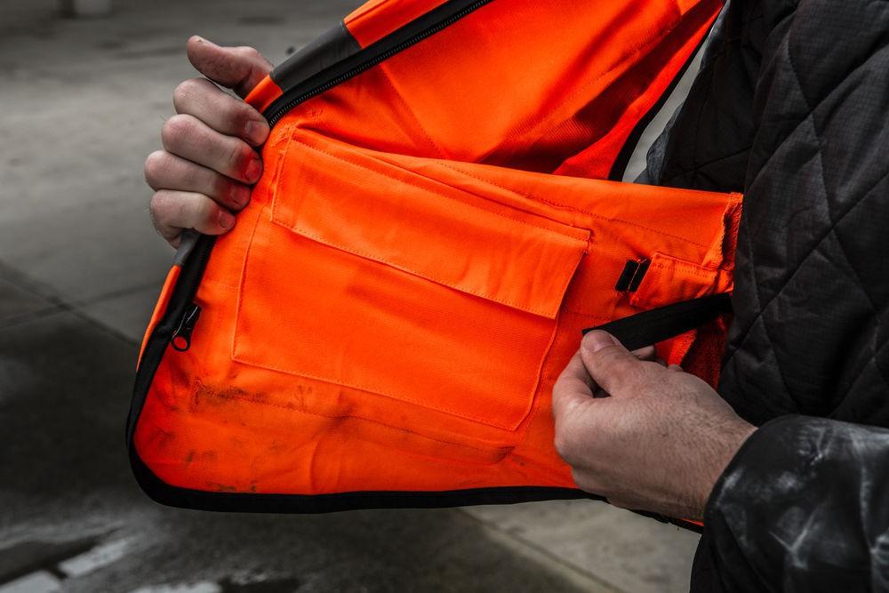 Kamizelka odblaskowa Premium L/XL pomarańczowa MILWAUKEE (nr kat. 4932471899)