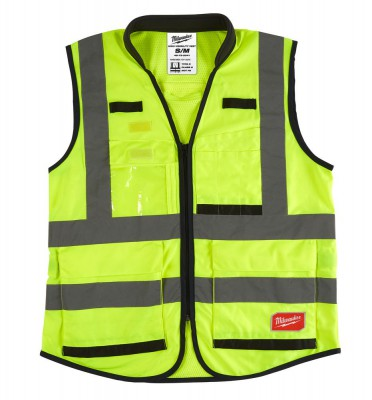 Kamizelka odblaskowa Premium L/XL żółta MILWAUKEE (nr kat. 4932471896)