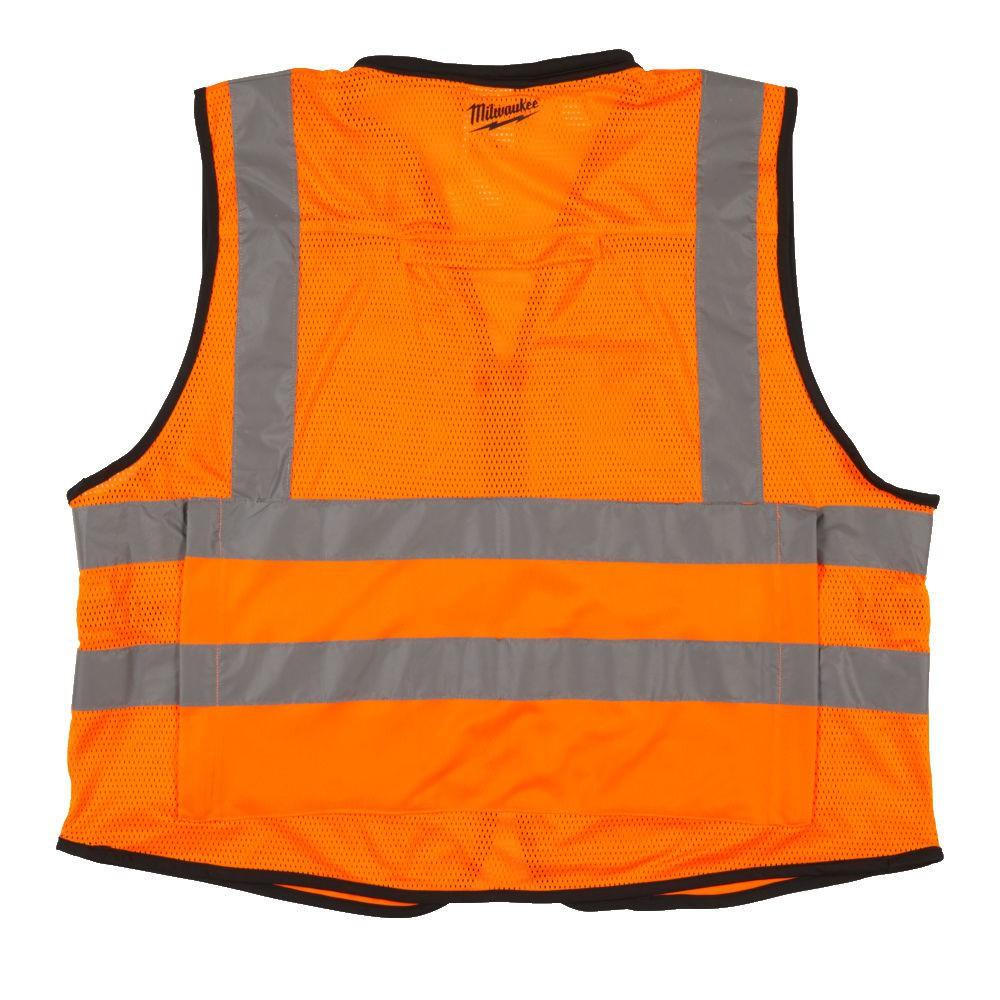 Kamizelka odblaskowa Premium S/M pomarańczowa MILWAUKEE (nr kat. 4932471898)