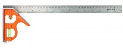Kątownik stalowy z poziomicą 300 x 125 mm Bahco (nr kat. CS300)