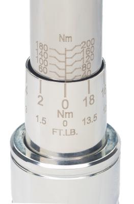 Klucz dynamometryczny 3-15 Nm ze złączem prostokątnym 9x12 mm Bahco (nr kat. 7465-15)