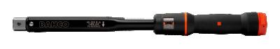 Klucz dynamometryczny 40-200 Nm ze złączem prostokątnym 9x12 mm Bahco (nr kat. 74W9-200)