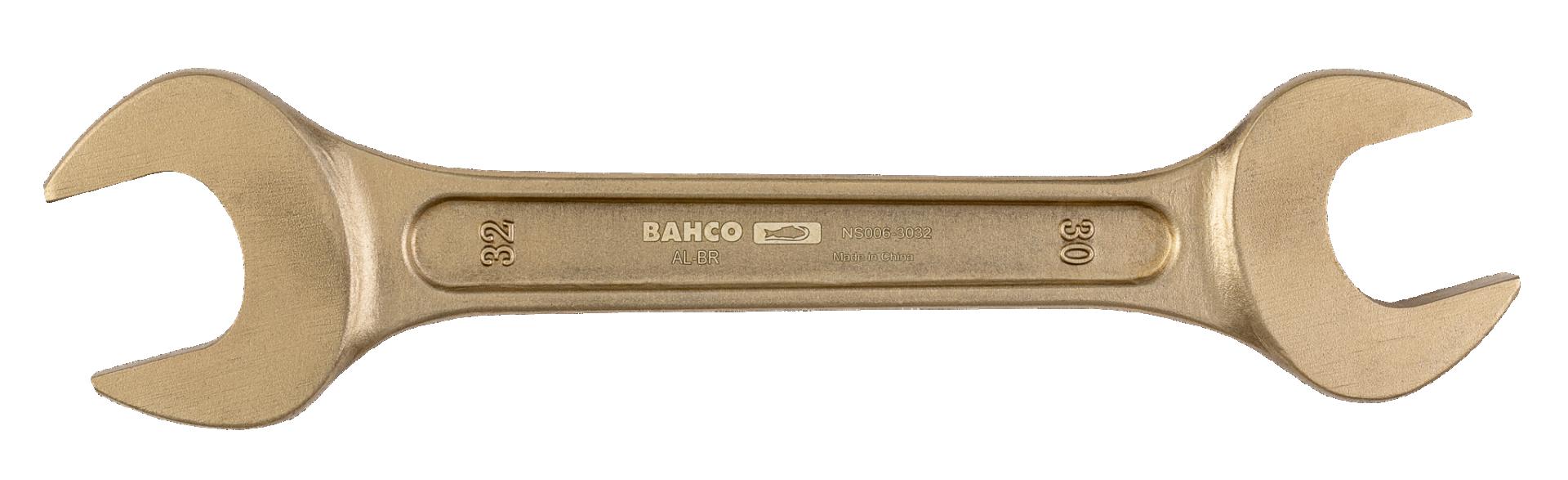 Klucz płaski dwustronny nieiskrzący 27 x 30 mm Bahco (nr kat. NS006-2730)