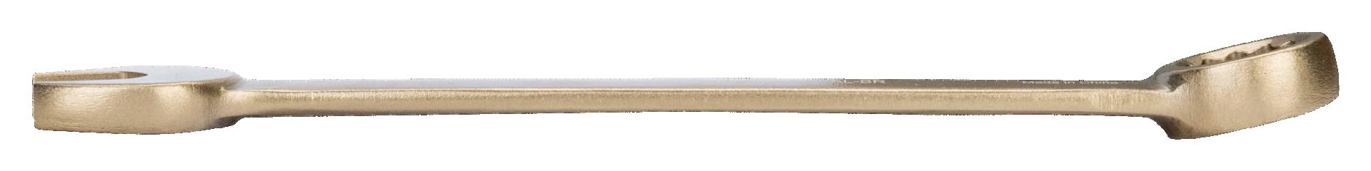 Klucz płasko-oczkowy nieiskrzący 18 mm Bahco (nr kat. NS002-18)
