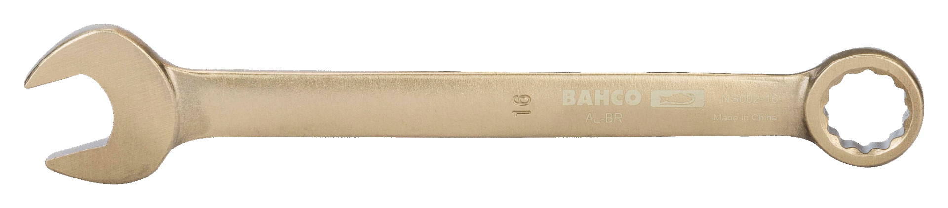 Klucz płasko-oczkowy nieiskrzący 20 mm Bahco (nr kat. NS002-20)