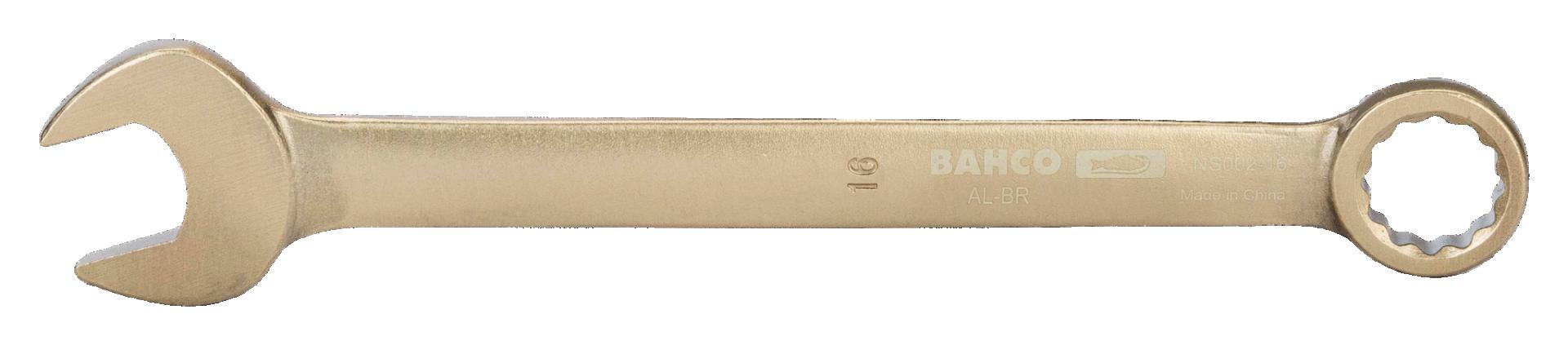Klucz płasko-oczkowy nieiskrzący 24 mm Bahco (nr kat. NS002-24)
