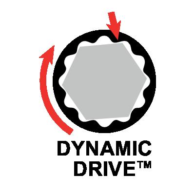 Klucz płasko-oczkowy z grzechotką 19 mm Dynamic-Drive Bahco (nr kat. 1RM-19)