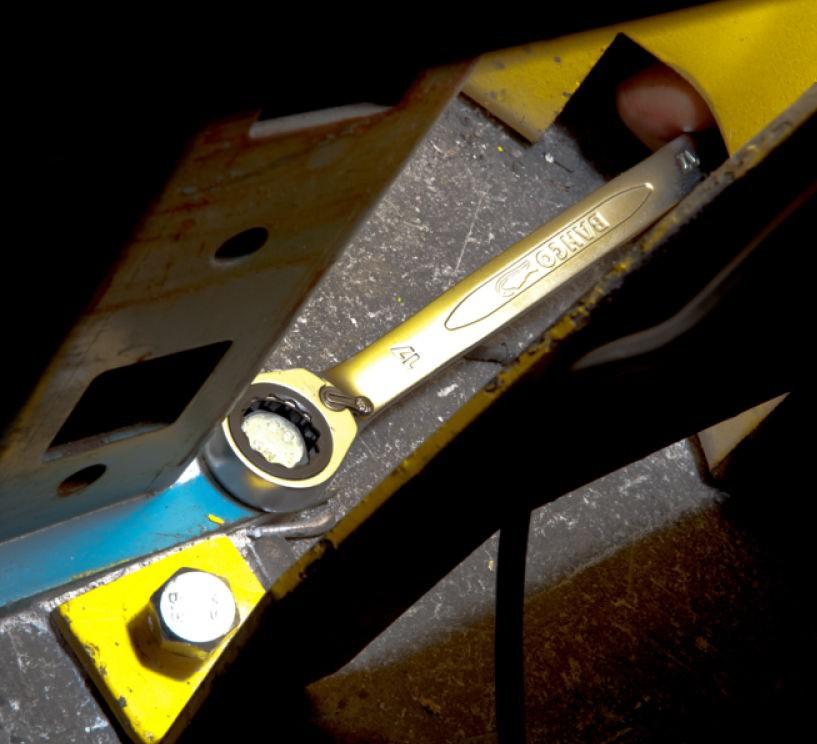 Klucz płasko-oczkowy z grzechotką 21 mm Dynamic-Drive Bahco (nr kat. 1RM-21)
