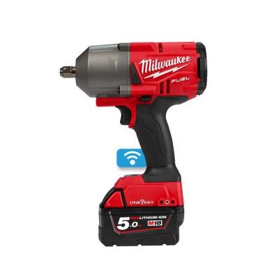 """Klucz udarowy aklumulatorowy 1/2"""" 1491 Nm z kulką M18 ONEFHIWP12-502X MILWAUKEE (nr kat. 4933459725)"""