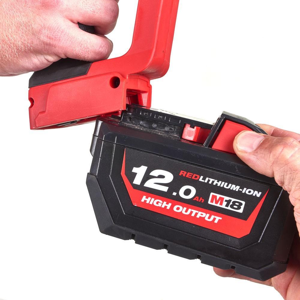 """Klucz udarowy akumulatorowy 1"""" 2400 Nm M18 ONEFHIWF1-802X + guma ochronna MILWAUKEE (nr kat. 4933459733 + 4932478760)"""