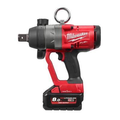 """Klucz udarowy akumulatorowy 1"""" 2400 Nm M18 ONEFHIWF1-802X MILWAUKEE (nr kat. 4933459733)"""