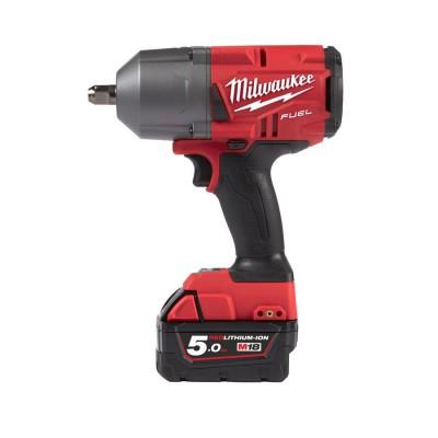 """Klucz udarowy akumulatorowy 1/2"""" 1491 Nm z kulką M18 FHIWP12-502X MILWAUKEE (nr kat. 4933459693)"""