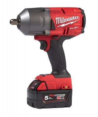 """Klucz udarowy akumulatorowy 1/2"""" 1491 Nm z pinem M18 FHIWP12-502X MILWAUKEE (nr kat. 4933459693)"""