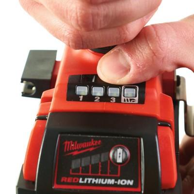 """Klucz udarowy akumulatorowy 1/2"""" 300 Nm z pierścieniem M18 FIWF12-0 MILWAUKEE (nr kat. 4933451070)"""