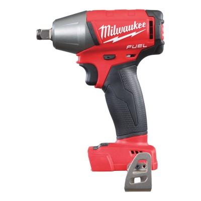 """Klucz udarowy akumulatorowy 1/2"""" 300 Nm z pierścieniem M18 FIWF12-0X MILWAUKEE (nr kat. 4933451448)"""