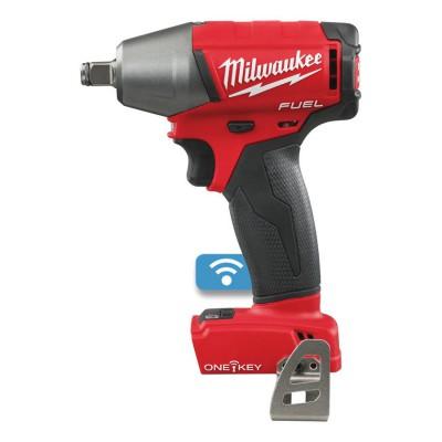 """Klucz udarowy akumulatorowy 1/2"""" 300 Nm z pinem M18 ONEIWP12-0X MILWAUKEE (nr kat. 4933459197)"""