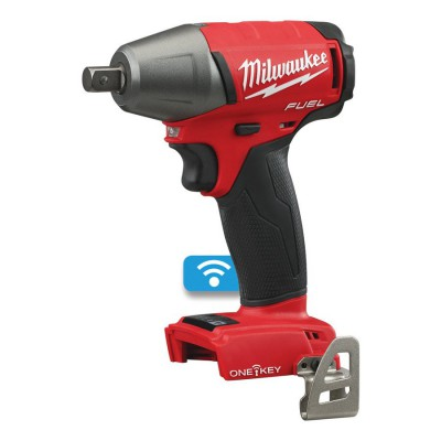 """Klucz udarowy akumulatorowy 1/2"""" 300 Nm z pinem M18 ONEIWP12-502X MILWAUKEE (nr kat. 4933451372)"""