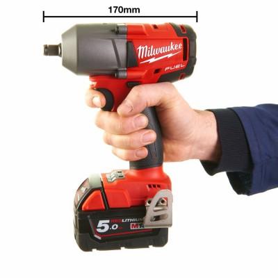 """Klucz udarowy akumulatorowy 1/2"""" 610 Nm z kulką M18 FMTIWP12-502X MILWAUKEE (nr kat. 4933459183)"""