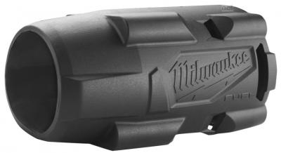 """Klucz udarowy akumulatorowy 1/2"""" 881 Nm z pierścieniem M18 FMTIW2F12-502X + guma ochronna MILWAUKEE (nr kat. 4933478450 + 4932478771)"""