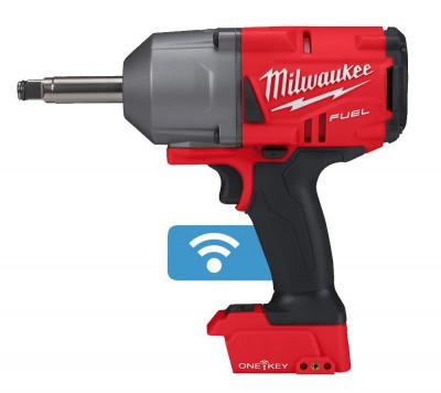 """Klucz udarowy akumulatorowy z długim wrzecionem 1/2"""" 1500 Nm M18 ONEFHIWF12E-0X MILWAUKEE (nr kat. 4933478405)"""