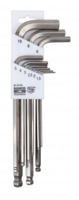 Klucze imbusowe długie zestaw 9 el. z kulką Bahco (nr kat. BE-9770)