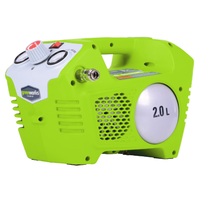 Kompresor akumulatorowy 40V 8 Bar GREENWORKS (nr kat. G40AC)