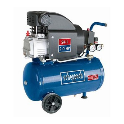 Kompresor olejowy HC25 24l 8bar 2,0PS SCHEPPACH (nr kat. SCH5906115901)