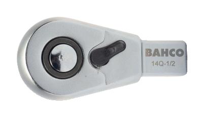 Końcówka grzechotka 1/4'' złącze prostokątne 9x12 mm Bahco (nr kat. 9Q-1/4)