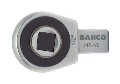 Końcówka grzechotka 1/4'' złącze prostokątne 9x12 mm Bahco (nr kat. 9T-1/4)