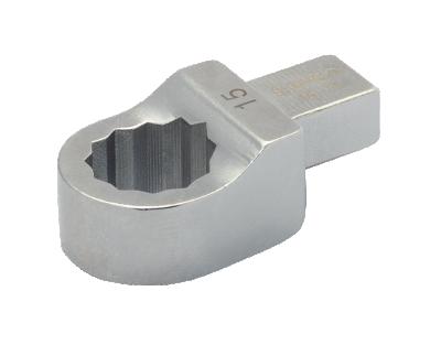 Końcówka płaska 36 mm złącze prostokątne 14x18 mm Bahco (nr kat. 147-36)