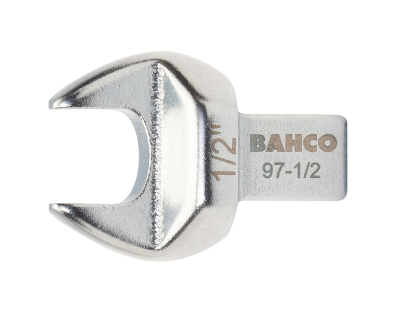 Końcówka płaska 30 mm złącze prostokątne 9x12 mm Bahco (nr kat. 97-30)