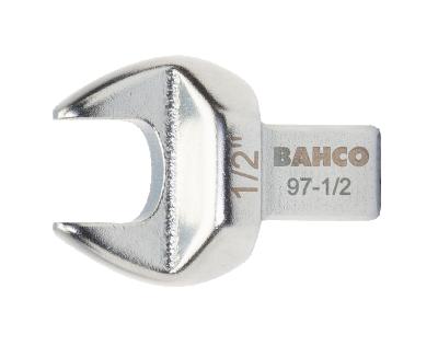 Końcówka płaska 8 mm złącze prostokątne 9x12 mm Bahco (nr kat. 97-8)