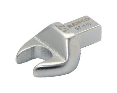 Końcówka płaska 12 mm złącze prostokątne 9x12 mm Bahco (nr kat. 97-12)