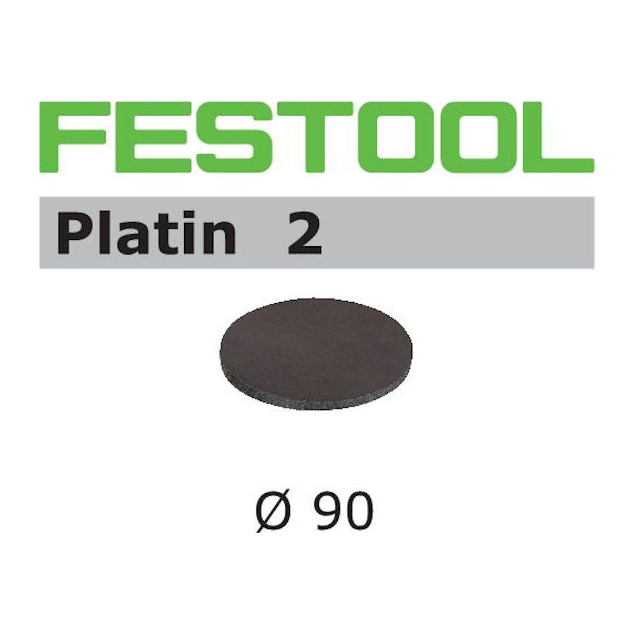 Krążki ścierne Platin 2 STF D 90/0 S500 PL2/15 FESTOOL (nr kat. 498322)