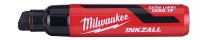 """Marker czarny bardzo gruby """"XL"""" INKZALL MILWAUKEE (nr kat. 4932471559)"""