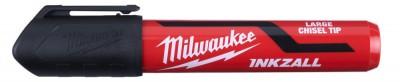 """Marker czarny gruby """"L"""" INKZALL MILWAUKEE (nr kat. 4932471555)"""