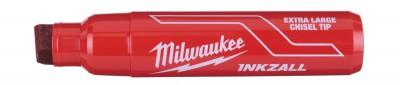 """Marker czerwony bardzo gruby """"XL"""" INKZALL MILWAUKEE (nr kat. 4932471560)"""