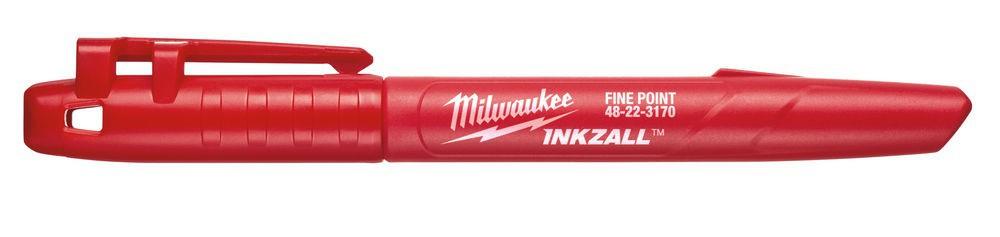 Marker czerwony INKZALL MILWAUKEE (nr kat. 48223170)