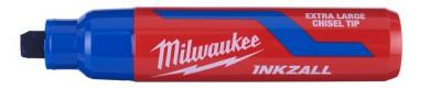 """Marker niebieski bardzo gruby """"XL"""" INKZALL MILWAUKEE (nr kat. 4932471561)"""