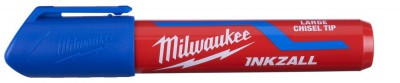 "Marker niebieski gruby ""L"" INKZALL MILWAUKEE (nr kat. 4932471557)"