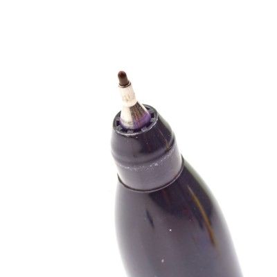 Markery czarne cienkie INKZALL™ MILWAUKEE (nr kat. 48223154)