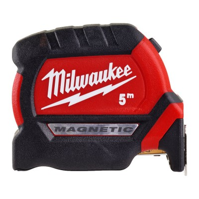 Miara zwijana magnetyczna 5 m Premium III MILWAUKEE (nr kat. 4932464599)