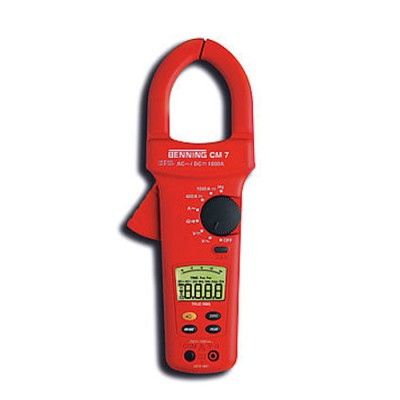 Miernik prądu CM 7 cęgowy z akcesoriami BENNING (nr kat. BG044059)