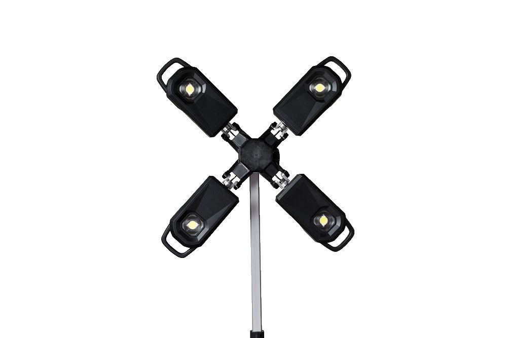 Mobilny maszt oświetleniowy akumulatorowy 27,000 lm MXF TL-601 MILWAUKEE (nr kat. 4933471844)