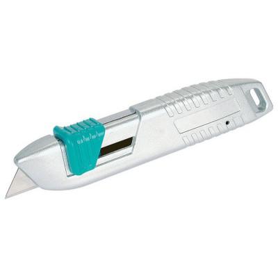 Nóż bezpieczny metalowy WOLFCRAFT (nr kat. 4134000)
