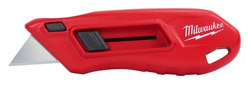 Nóż kompaktowy wysuwany z ostrzem trapezowym MILWAUKEE (nr kat. 4932478561)